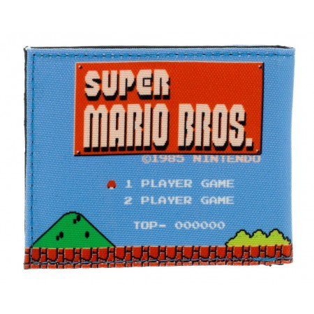 Cartera Nintendo Super Mario Bros Retro